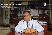 Dr. Francisco Arancibia, Presidente de la Sociedad Chilena de Enfermedades Respiratorias