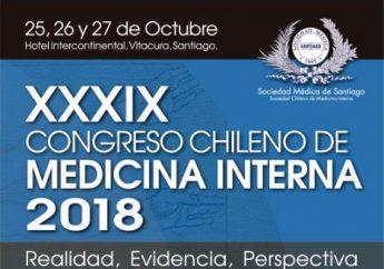 XXXIX Congreso Chileno de Medicina Interna 2018